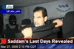 Saddam's Last Days Revealed