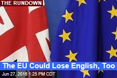 The EU Could Lose English, Too