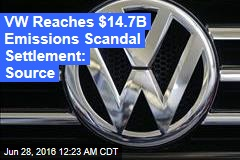 VW Reaches $14.7B Emissions Scandal Settlement: Source