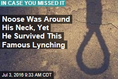 Noose Was Around His Neck, Yet He Survived This Famous Lynching