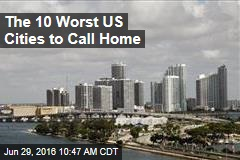 The 10 Worst US Cities to Call Home