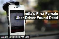 India's First Female Uber Driver Found Dead