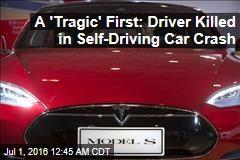 A 'Tragic' First: Driver Killed in Self-Driving Car Crash