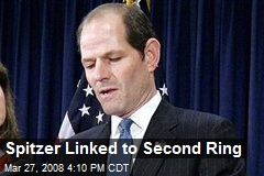 Spitzer Linked to Second Ring