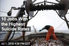 10 Jobs With the Highest Suicide Rates