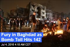 Fury in Baghdad as Bomb Toll Hits 142