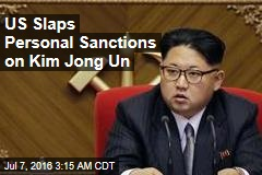 US Slaps Personal Sanctions on Kim Jong Un