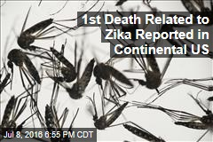 1st Death Related to Zika Reported in Continental US
