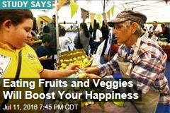 Eating Fruits and Veggies Will Boost Your Happiness