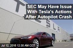 Tesla Didn't Tell Investors About Autopilot Crash