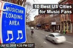 10 Best US Cities for Music Fans