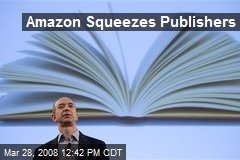 Amazon Squeezes Publishers
