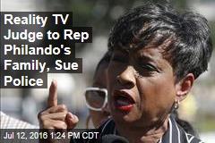 Reality TV Judge to Rep Philando's Family, Sue Police