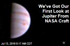 We've Got Our First Look at Jupiter From NASA Craft
