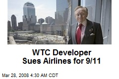 WTC Developer Sues Airlines for 9/11