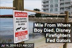A Mile From Where Boy Died, Disney Staff Were Feeding Gators