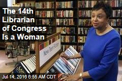 The 14th Librarian of Congress Is a Woman