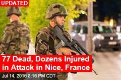 30 Dead, 100 Injured in Attack in Nice, France