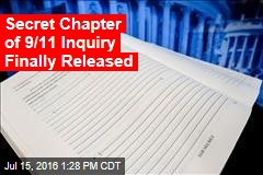 Secret Chapter of 9/11 Inquiry Finally Released