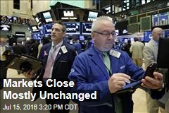 Markets Close Mostly Unchanged