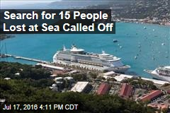 Search for 15 People Lost at Sea Called Off