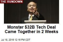 Monster $32B Tech Deal Came Together in 2 Weeks
