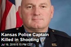 Kansas Police Captain Killed in Shooting