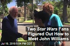 Two Star Wars Fans Figured Out How to Meet John Williams