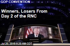 Winners, Losers From Day 2 of the RNC
