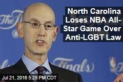 North Carolina Loses NBA All- Star Game Over Anti-LGBT Law