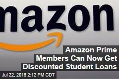 Amazon Prime Members Can Now Get Discounted Student Loans