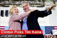 Clinton Picks Tim Kaine