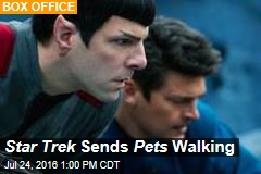 Star Trek Sends Pets Walking