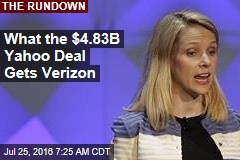 What the $4.83B Yahoo Deal Gets Verizon