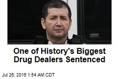 One of History's Biggest Drug Dealers Sentenced