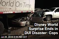 Disney World Surprise Ends in DUI Disaster: Cops