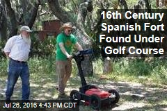 16th Century Spanish Fort Found Under Golf Course