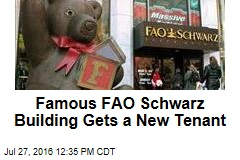 Famous FAO Schwarz Building Gets a New Tenant