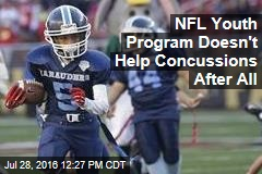 NFL Youth Program Doesn't Help Concussions After All