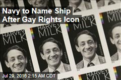 Navy to Name Ship After Gay Rights Icon