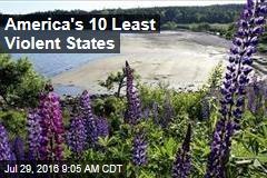 America's 10 Least Violent States