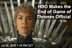 HBO Makes the End of Game of Thrones Official