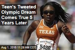 Teen's Tweeted Olympic Dream Comes True 5 Years Later