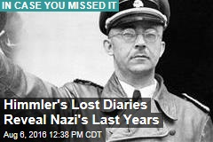 Himmler's Lost Diaries Reveal Nazi's Last Years