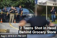 2 Teens Shot in Head Behind Grocery Store