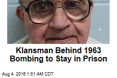 Alabama Church Bomber Denied Parole