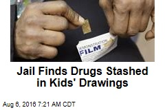 Jail Finds Drugs Stashed in Kids' Drawings