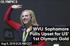 1st Olympic Gold Goes to Teen From Virginia