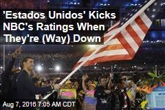 'Estados Unidos' Helps Kick NBC's Ratings When They're Down