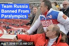Team Russia Banned From Paralympics